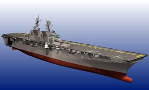 USS America (LHA 6)  designed with ShipConstructor Software