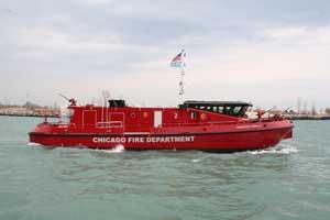 Ranger 2700 Class fireboat Christopher Wheatley