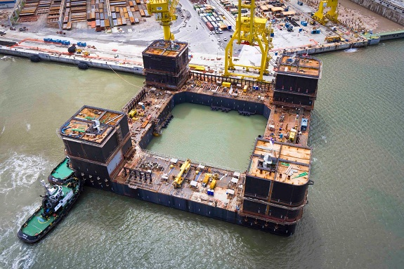 Largest Brazilian FPU Oil Rig Built with ShipConstructor