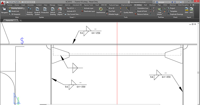 ShipConstructor-Weld-Process-Layout-View3