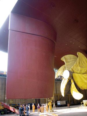 Twistiertes Ruder TLKSR (Image Copyright: Becker Marine Systems)