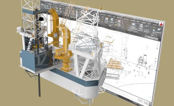 造船所の目のオイル&ガスの機会のための滑りやすい斜面