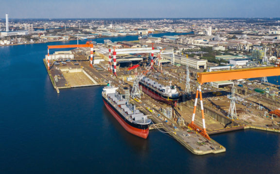 The Japanese shipbuilding market is at a crossroads.