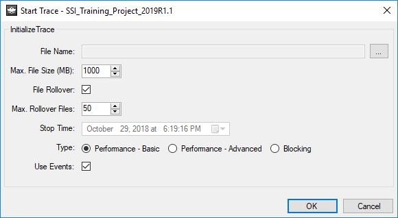 Performance Improvements - Start Trace