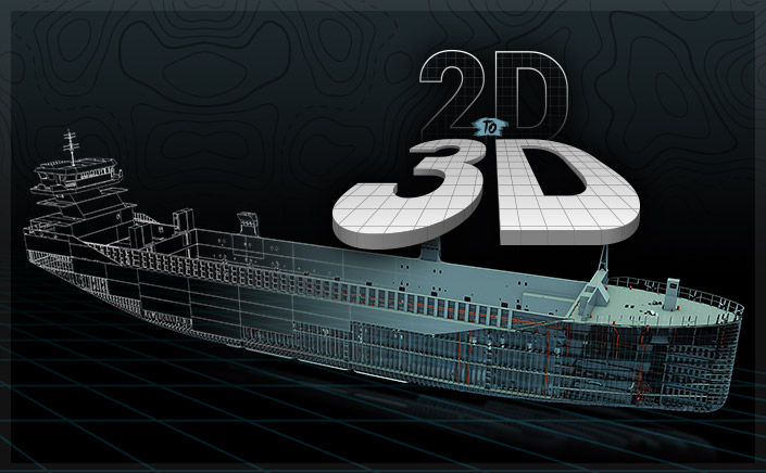 2D to 3D PLM