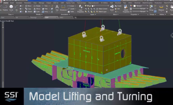 SSI 2019 R2.1 Model Lifting and Turning Equipment and Vectors