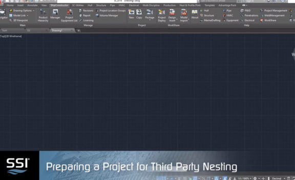 Preparing your project for third party nesting