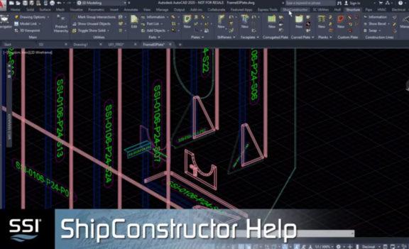 SSI 2020 ShipConstructor Help Improvements
