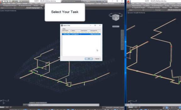 Transfer parts via Tasks in ShipConstructor 2019