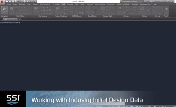 Working with Industry Initial Design Data