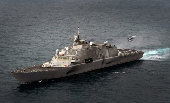First Combat Ship - Littoral Combat Ship