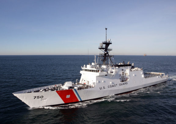 US Coast Guard Legend class cutters