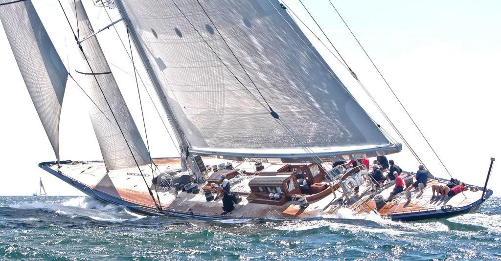Royal Huisman sailing yacht